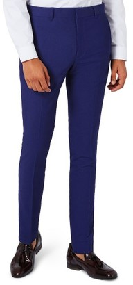 Men's Topman Infinity Ultra Skinny Fit Suit Trousers $120 thestylecure.com