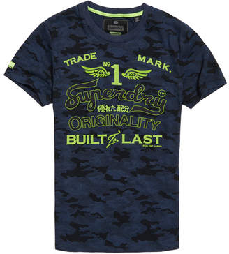 Superdry High Flyers Low Roller Camo T-Shirt