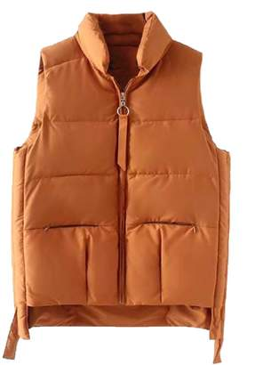 Goodnight Macaroon 'Oria' Puffy Down Vest Jacket (4 Colors)