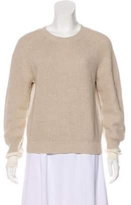 Helmut Lang Knit Paneling Sweater