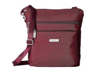 Baggallini Pocket Crossbody Bag with RFID Wristlet