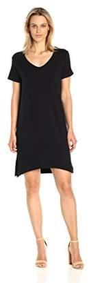 Michael Stars Women's French Terry Short Sleeve Sweatshirt Dress