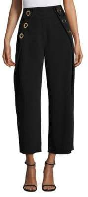 Derek Lam 10 Crosby Cropped Grommet Pants