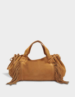 Gerard Darel 24 GD Fun Bag in Tan Leather