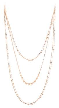 Rebecca Minkoff Luxury Ellie Triangle Layered Necklace