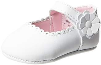 Baby Deer Leather SM Ballet Flat (Infant/Toddler)