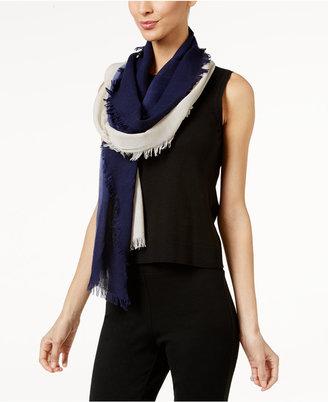 Eileen Fisher Silk Fringe-Trim Scarf $118 thestylecure.com