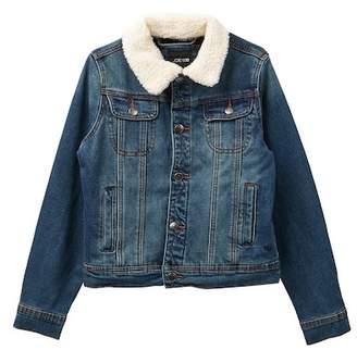 Joe's Jeans Faux Shearling Denim Jacket (Big Boys)