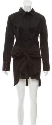 Nicholas K Long Sleeve Button-Up Dress w/ Tags
