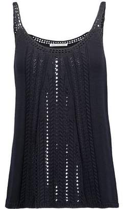 Autumn Cashmere Cable-Knit Cotton Tank