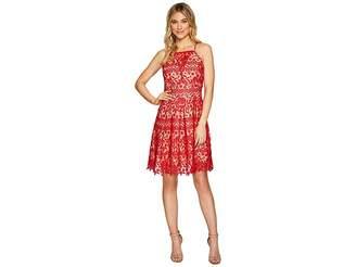 Adelyn Rae Krista Fit Flare Dress Women's Dress