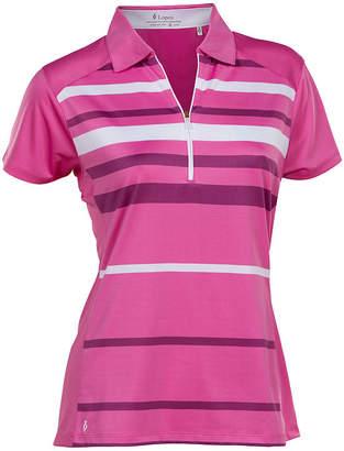 Asstd National Brand Nancy Lopez Golf Shock Short Sleeve Polo