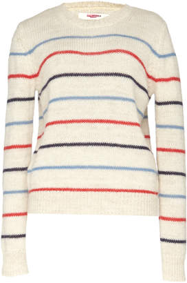Etoile Isabel Marant Gian Striped Alpaca-Blend Sweater