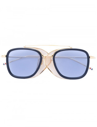 Thom Browne square frame sunglasses $1,000 thestylecure.com
