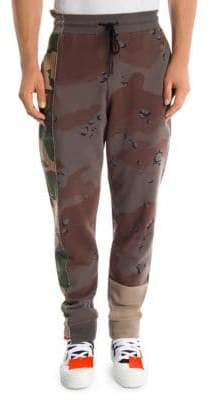 Off-White Reconstructed Camo Sweatpants