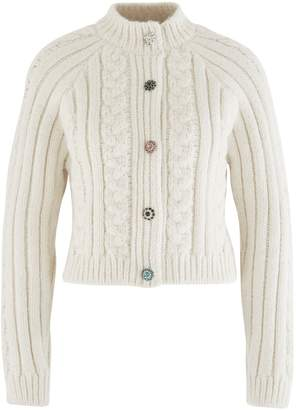 Ganni Cable-knit cardigan