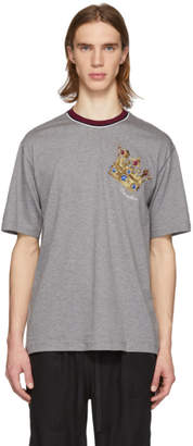 Dolce & Gabbana Grey Crown T-Shirt