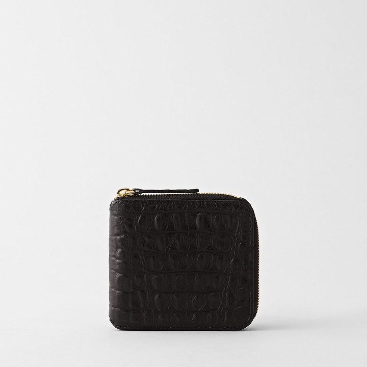 Clare Vivier half zip wallet