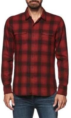 Paige Evervett Slim Fit Plaid Shirt