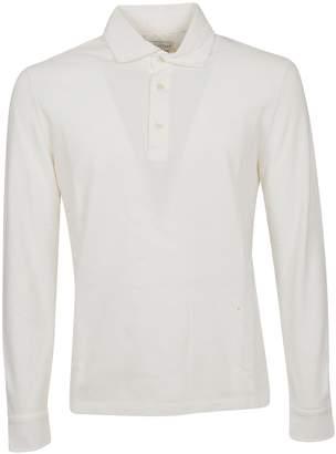 b6119246b White Long Sleeve Polo Shirt - ShopStyle Canada