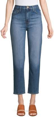 J Brand High-Rise Ankle-Length Jeans