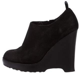 Chloe Sevigny for Opening Ceremony Suede Wedge Booties
