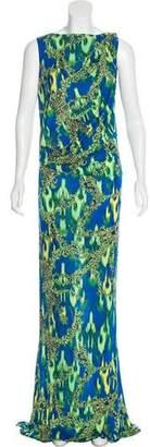 Matthew Williamson Printed Maxi Dress