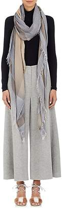 Faliero Sarti Women's Potter Cashmere-Blend Scarf - Gray, Tan