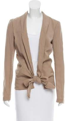Kimberly Ovitz Open-Front Jacket