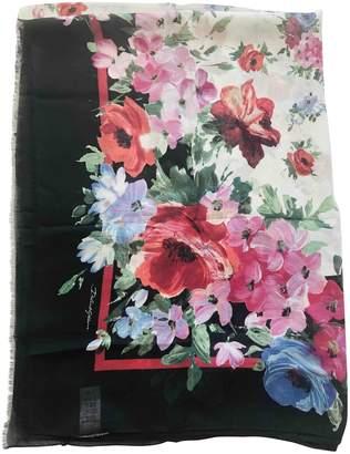 Dolce & Gabbana Black Cashmere Scarves