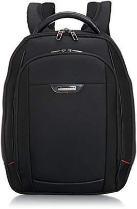 Samsonite (サムソナイト) - [サムソナイト] Samsonite Pro-DLX4/プロディーエルエックス 4 ラップトップ バックパック (M) (ビジネスバッグ・リュックサック・通勤・出張・軽量・ラップトップ・PC/14.1インチ・保証付) 35V*09006 09 (ブラック)