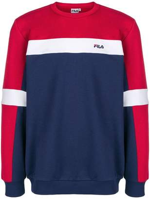 Fila colour-block fitted sweater