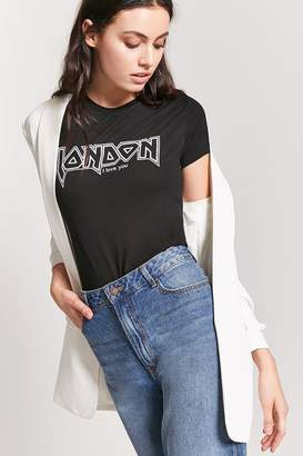 Forever 21 London I Love You Graphic Tee