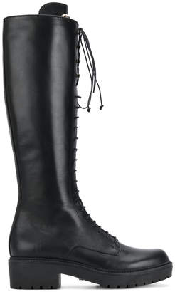 Versace lace-up boots