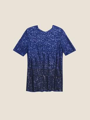 DKNY Ombre Sequin Tee