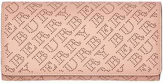 Burberry perforated clutch