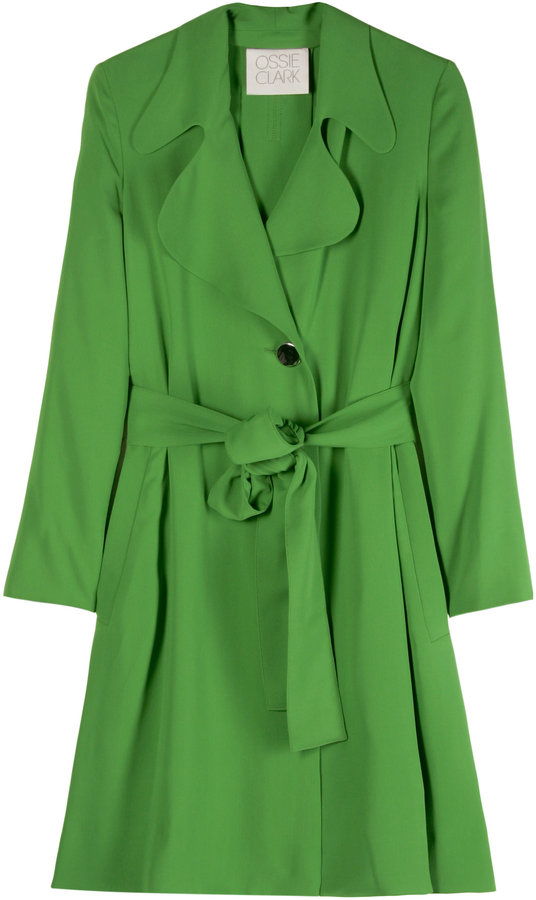 Ossie Clark Silk Trench Coat