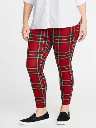 Old Navy High-Rise Plus-Size Ponte-Knit Stevie Pants