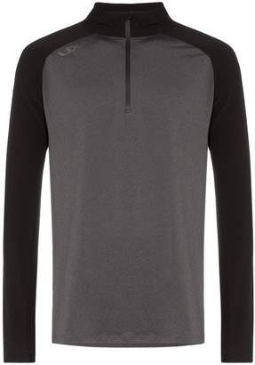 GHST zip front high neck jumper
