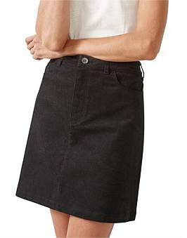 Jag Ada A-Line Cord Skirt