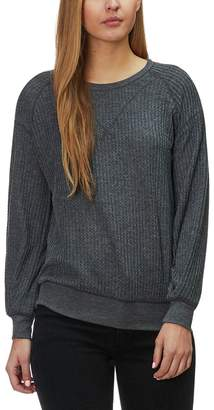 Project Social T Austin Cozy Thermal Pullover Top - Women's