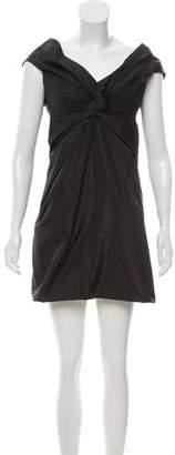 Marc Jacobs Draped Silk Dress