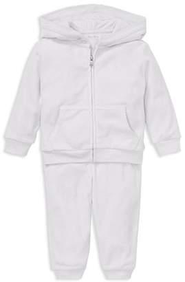 Ralph Lauren Girls' Velour Hoodie & Pant Set - Baby
