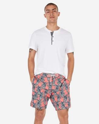 Express Pineapple Print Board Shorts