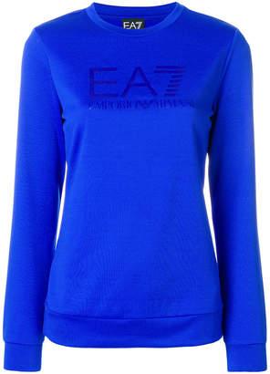 Emporio Armani Ea7 tonal logo sweatshirt
