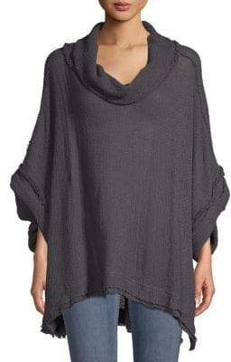 Free People Dolman-Sleeve Cotton Sweater
