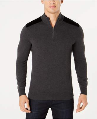 INC International Concepts I.n.c. Men Future Mock-Neck Knit Sweater