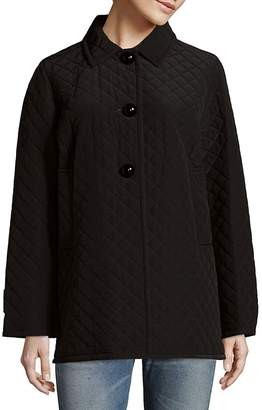Jane Post Women's Mayfair Quilted Jacket - Black, Size x-large
