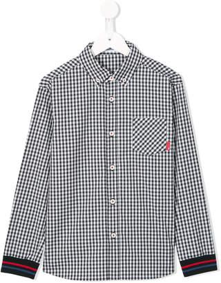 Familiar checked shirt