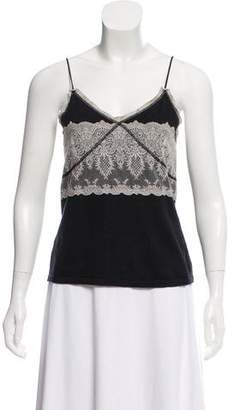 ICB Sleeveless Lace-Accented Camisole